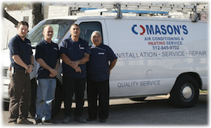 Masons AC and Heating Services Team