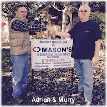 Masons AC and Heating Services Austin TX