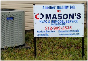 Masons AC and Heating Services Austin Texas